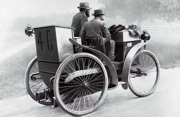 История автомобильных шин