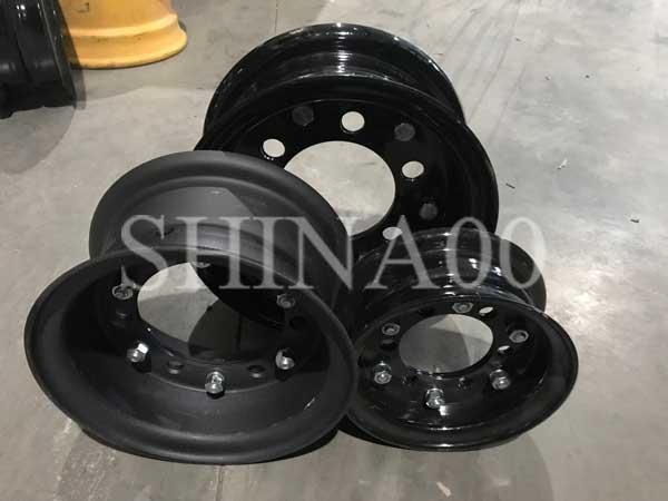 Диски 3.00D-8 110/148-6 для вилочных погрузчиков сборные Toyota, Mitsubishi